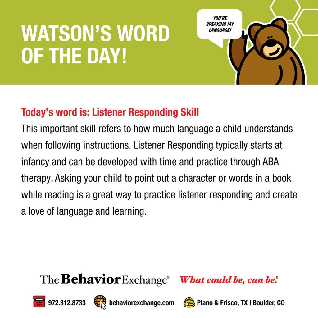 listener responding skill
