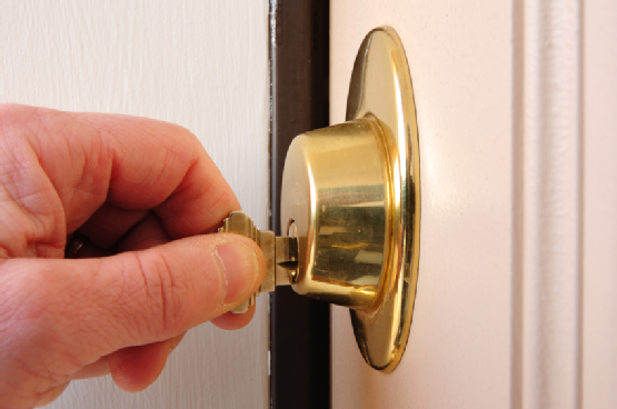 Locking a Deadbolt